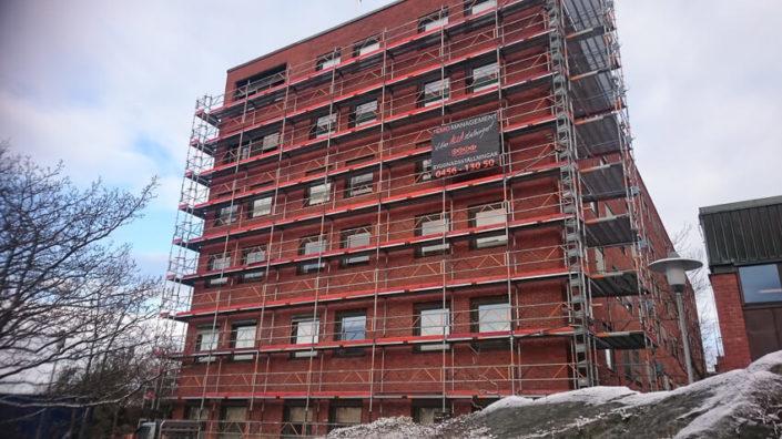 Fasadrenovering-Karlskrona